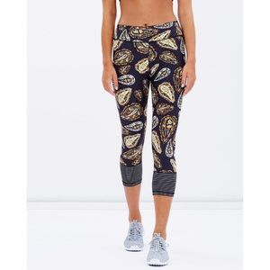 The Upside Spice Temple Mixed Print Leggings
